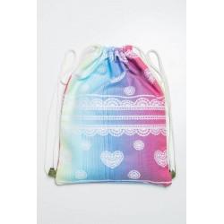 LennyLamb taška SackPack Rainbow Lace