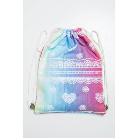 LennyLamb taška SackPack Rainbow Lace
