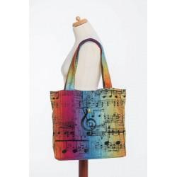 LennyLamb taška přes rameno Symphony Rainbow Dark