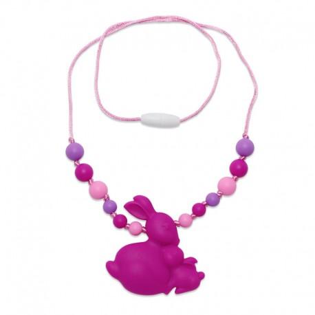 Silikonový náhrdelník králíci
