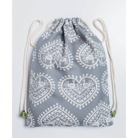 LennyLamb taška SackPack Folk Hearts
