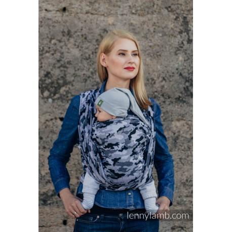 LennyLamb Grey Camo - žakárový šátek