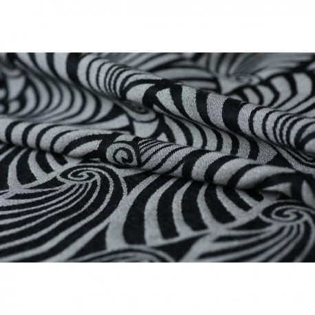 Yaro Dandy Black Natural Wool