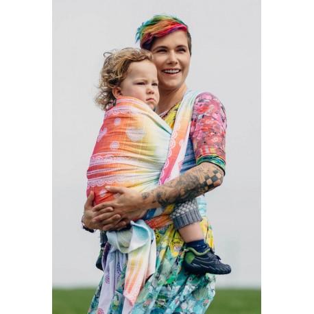 LennyLamb Rainbow Lace - žakárový šátek