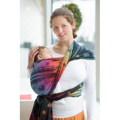 LennyLamb Rainbow Lace Dark - žakárový šátek