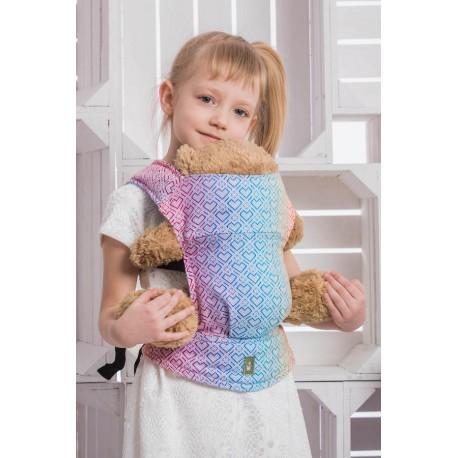 LennyLamb dětské nosítko na panenky Big Love Rainbow