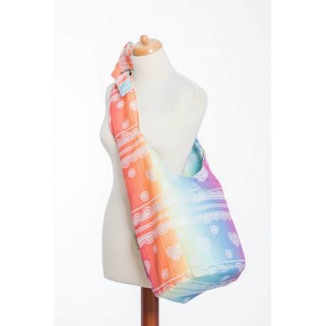 LennyLamb Hobo taška Rainbow Lace