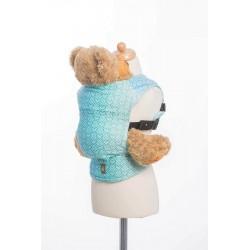 LennyLamb dětské nosítko na panenky Big Love Ice Mint