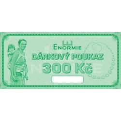 Dárkový poukaz v hodnotě 300 Kč