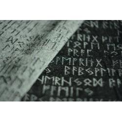 Luluna Runes Monochrome s buretovým hedvábím