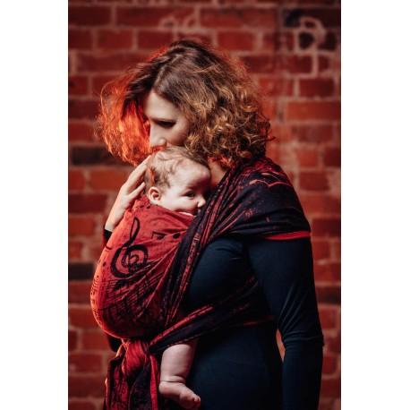 LennyLamb Symphony Flamenco - žakárový šátek
