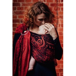 LennyLamb Symphony Flamenco - žakárový šátek ring sling