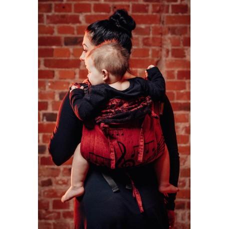 LennyLamb Onbuhimo Toddler Symphony Flamenco