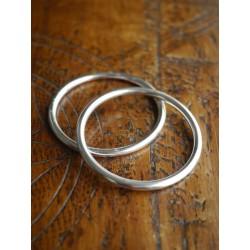 Ring Sling kroužky stříbrné