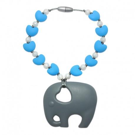 Silikonový přívěsek slon se srdíčky 2