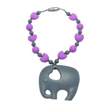 Silikonový přívěsek slon se srdíčky 3