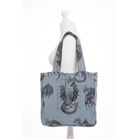 LennyLamb taška přes rameno Dragon Steel Blue