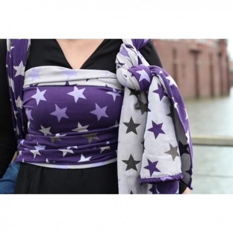 Yaro Stars Ultra Purple Beige Tencel