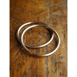 Ring Sling kroužky champagne - 2 ks