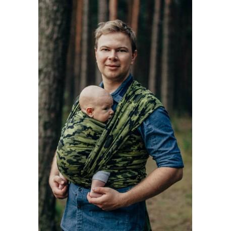 LennyLamb Green Camo - žakárový šátek