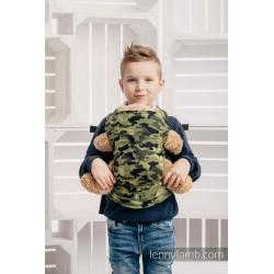 LennyLamb dětské nosítko na panenky Green Camo