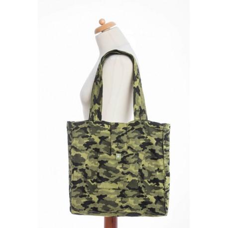 LennyLamb taška přes rameno Green Camo