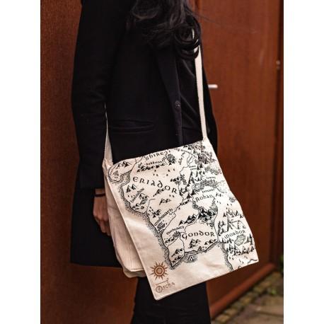 Oscha Middle Earth Messenger Eco Bag