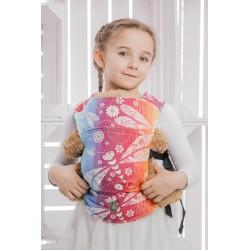LennyLamb dětské nosítko na panenky Dragonfly Rainbow
