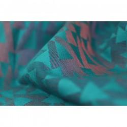 Yaro Delta Teal Corail Violet Linen