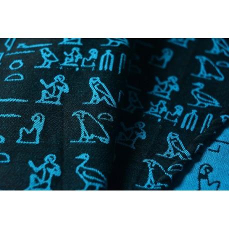 Luluna Hieroglyphs Turquoise/Black