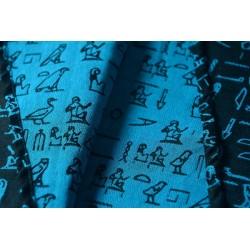 Luluna Hieroglyphs Turquoise/Black, 2. jakost