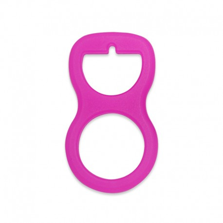 Silikonový adaptér růžový