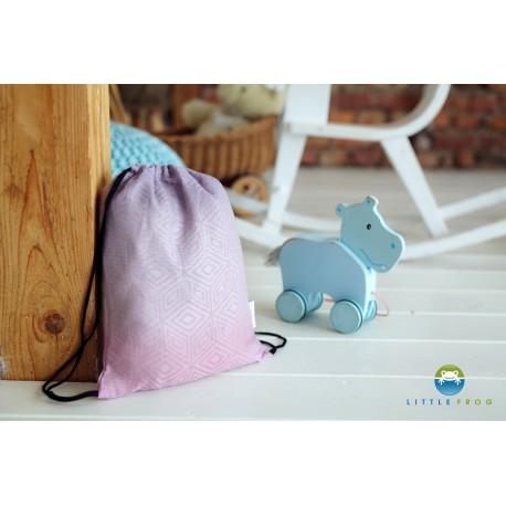 Little Frog taška Linen Lilac Cube