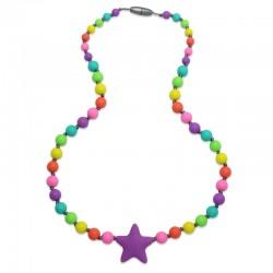 Silikonové korále barevné s hvězdou