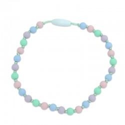Silikonový náhrdelník pro děti pastelový