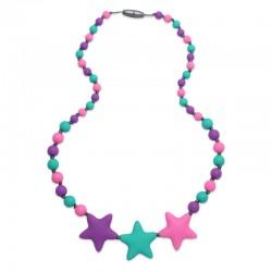 Silikonové korále barevné hvězdy
