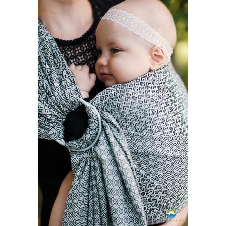 Little Frog Lovely Slate - ring sling šátek