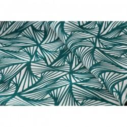 Scrap šátku Yaro Magnetic Contra Pine Natural Seacell - 130x80 cm