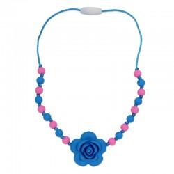 Silikonový náhrdelník pro děti květ 2