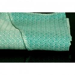 Scrap šátku Yaro Turtle Emerald - 120x80 cm