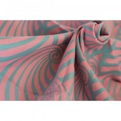 Yaro Dandy Old-Rose Aqua-Green