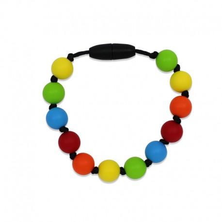 Silikonový náramek barevný 3