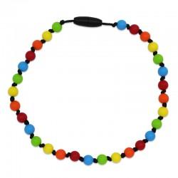 Silikonový náhrdelník pro děti barevný