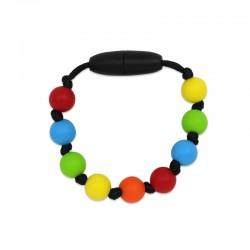 Silikonový náramek pro děti barevný