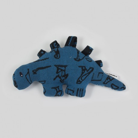 Dinosaurus z šátku Luluna Hieroglyphs Turquoise/Black