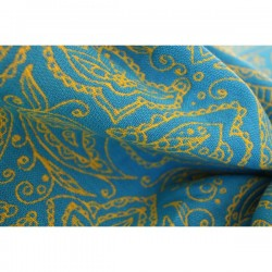 Yaro Lace Contra Yellow Blue Flame