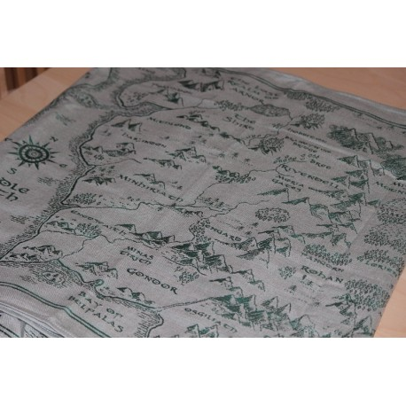 Oscha Map of Middle Earth There and Back Again
