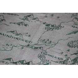 Oscha Map of Middle Earth There and Back Again Ring Sling