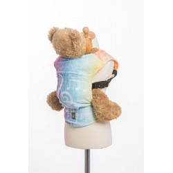 LennyLamb dětské nosítko na panenky Symphony Rainbow Light
