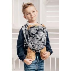 LennyLamb šátek na panenky Grey Camo